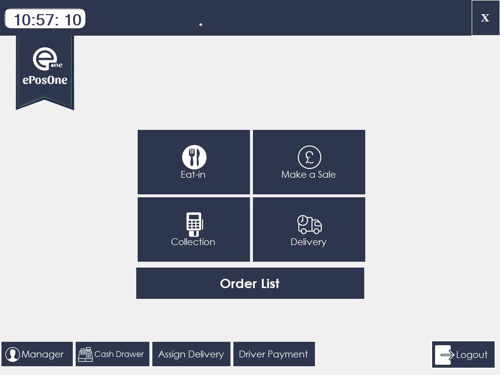 Fast Food ePOS Software, epos system