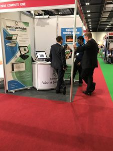 ePOS System at London exhibition