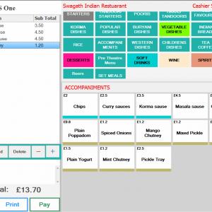 Restaurant ePOS Software